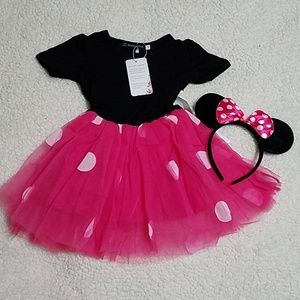 Other - Brand New Minnie Mouse costume 12-18m